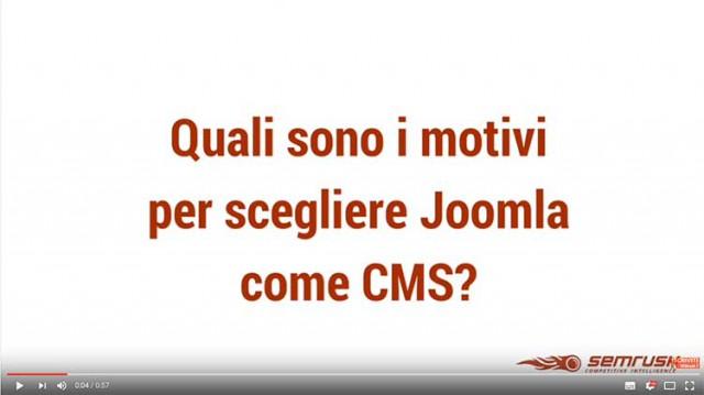 Quali sono i motivi per scegliere Joomla come CMS?