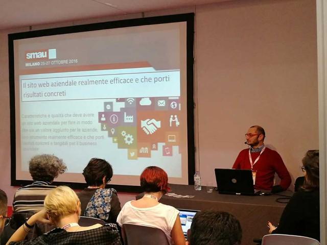 Smau Milano 2016: Sito web aziendale veramente efficace