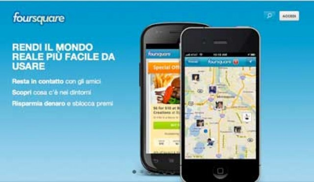 Marketing locale su Foursquare