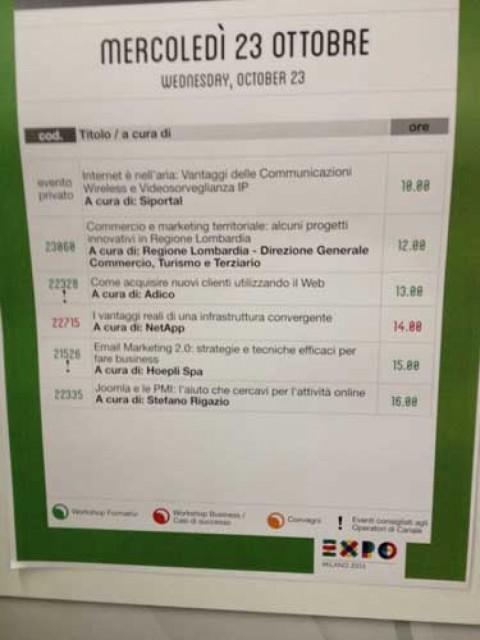 Joomla e le PMI un vero aiuto: Smau 2013 Milano