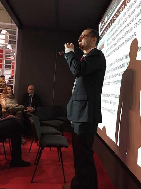 Presentazione Smau 2014 a Milano sull'Ecommerce e Seo con Joomla